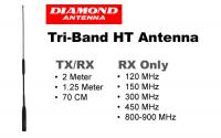Diamond Antenna SRH320A Triband HT Antenna