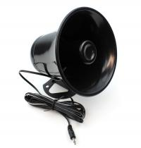 TH-55FP Plastic PA Speaker with Cord and Plug