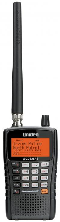Uniden BCD325P2 Digital Trunktracker V Handheld Police Scanner APCO Phase 2 and EDACS