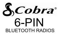 Cobra 6-Pin Wiring for 29 Bluetooth CBs