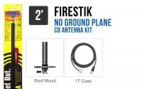 Firestik FG2DDB 2 No Ground Plane CB Antenna Kit - BLACK