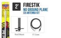 Firestik FG2DDW 2 No Ground Plane CB Antenna Kit - WHITE