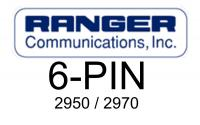 Ranger (RCI) 6-Pin Wiring for 2950, 2970, 2995 Radios