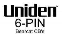 Uniden 6-Pin Wiring for new Bearcat 6-Pin CBs BC880, BC980, Etc.