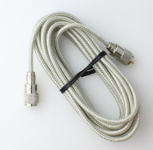 18 Clear CB Radio Coax Cable 18S8XC29