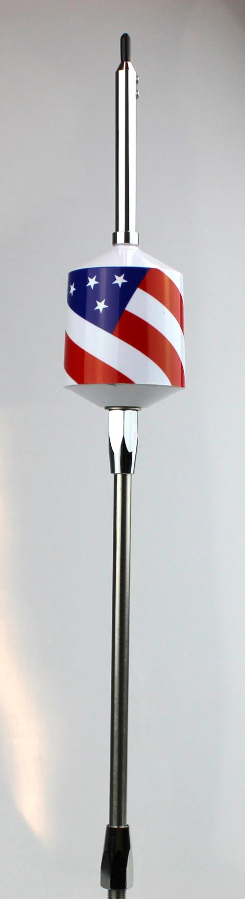 Wilson Trucker 2000 American Flag Limited Edition 3500 Watt CB Antenna 305FLAG
