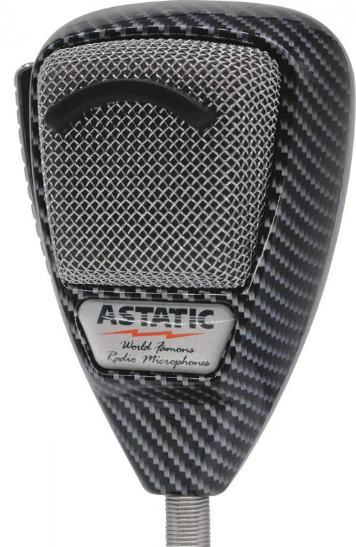 Astatic 636LCF Carbon Fiber Noise Canceling Microphone