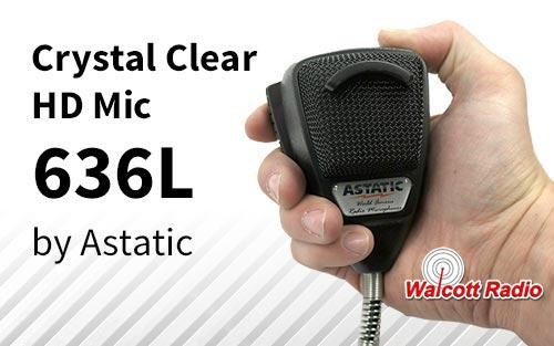 Astatic 636L Noise Canceling Microphone