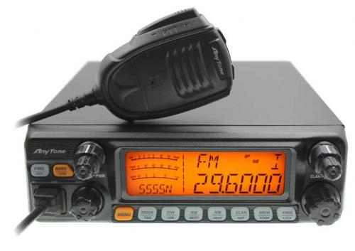 ANYTONE AT-5555N Mobile Transceiver AM/FM/SSB
