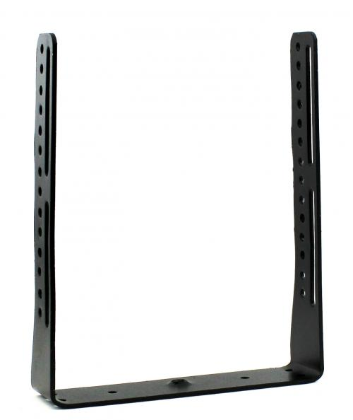 Extended mounting bracket for Cobra 29 and similar radios with width of 7.5 inches