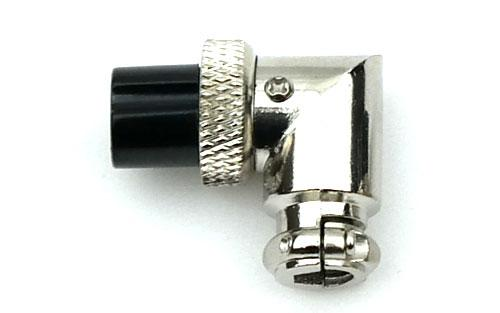 4-Pin Right Angle Microphone Plug
