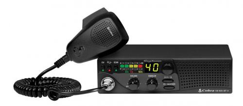 Cobra 18WXSTII CB Radio With Weather Radio