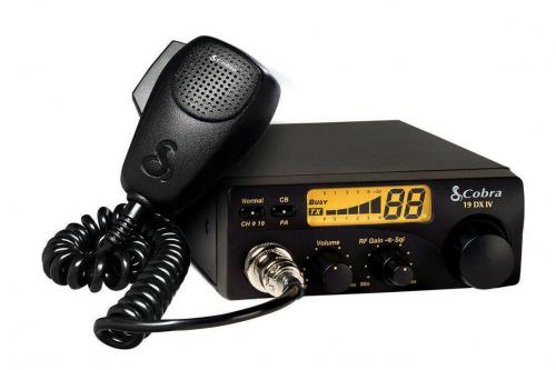 Cobra 19DXIV 40 Channel CB Radio with PA Jack