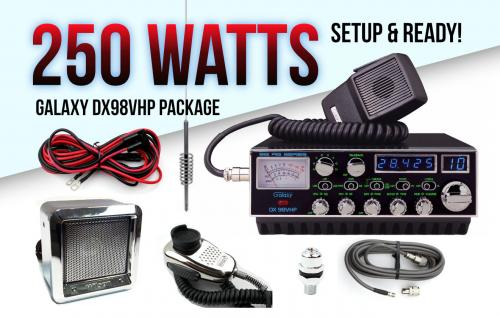 Galaxy DX98VHP Complete Package Deal