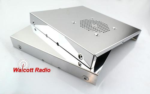 Stainless Steel Radio Case for NEW Cobra 29 and Similar CB Radios