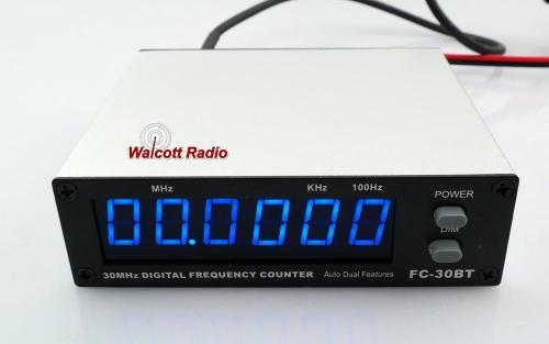 FC30 Frequency Counter Blue Display