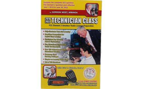 <b>Get Your 1st Ham License!</b> Technician Class Study Book 2018-2022