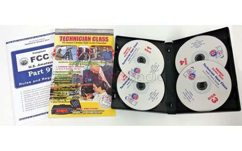 <b>Get Your 1st Ham License!</b> Technician Class Study Book and Audio CDs 2018-2022