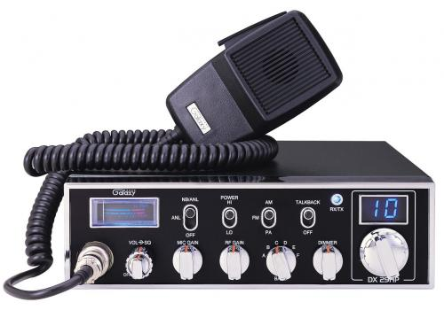Galaxy DX29 10 Meter Radio with Blue Lights