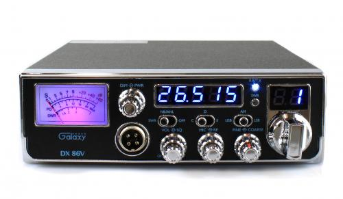 Galaxy DX86V Compact 10 Meter Radio with SSB