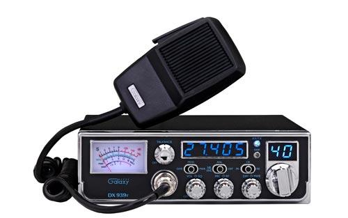 Galaxy DX939F CB Radio with Illuminated Faceplate and Frequency Counter