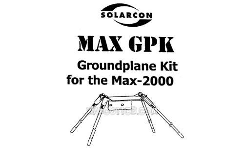 Solarcon IMAXGPK Ground Radial Kit