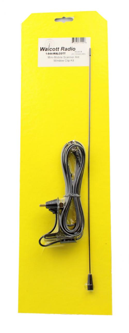 JBC290WCBN Window Clip Mount Scanner Radio Antenna Kit