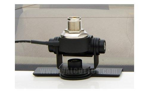 Diamond K400C UHF Trunk Lip Antenna Mount w/ Coax