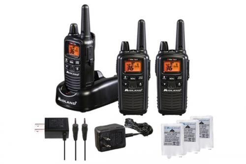 Midland FRS LXT633VP3 Walkie Talkie 3 Pack