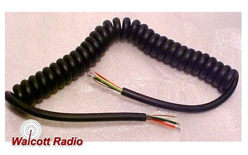 Microphone Cord 8-Wire 10 Feet Long Replacement - no connector