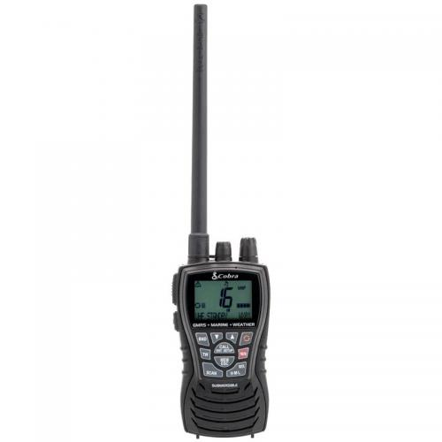 Cobra MRHH450DUAL Dual Band GMRS and Marine Handheld Two-Way Radio