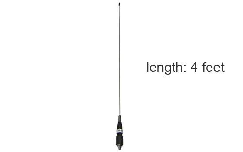 MS48 4ft Low Profile CB Antenna, Motorcycles, Pickup Trucks