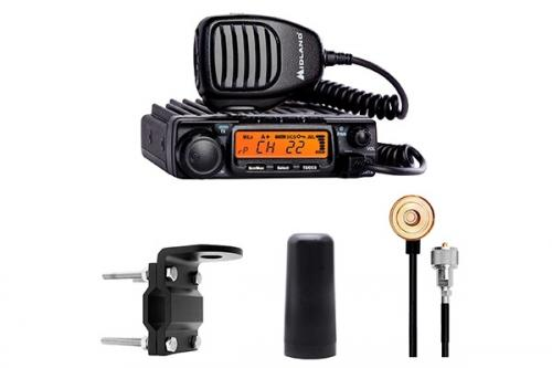 Midland MXT400VP3 GMRS Package