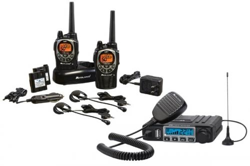 Midland ORMXT115VP GMRS Radio Package