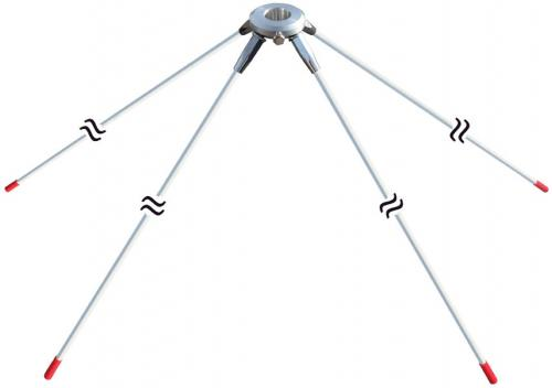 Universal Base Station Antenna Ground Plane Kit