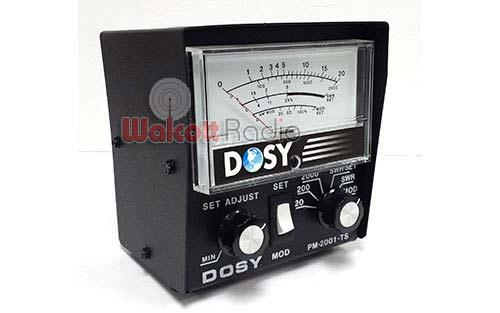 Dosy PM-2001 Power and SWR Meter