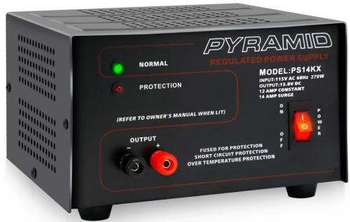 14 Amp 12V AC to DC Power Supply - Pyramid PS14KX