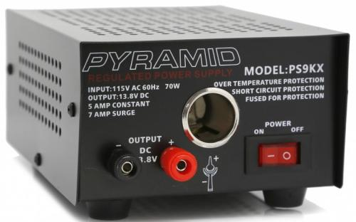 5 Amp 12V AC to DC Power Supply - Pyramid PS9KX