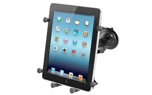 RAM RAM-B-166-UN9U Twist Lock Suction Cup Mount with X-Grip III Holder for Large Tablets