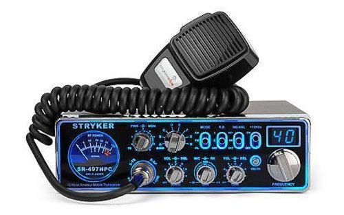 Stryker SR-497HP Loud 10 Meter Radio w/ Color Changing LED's