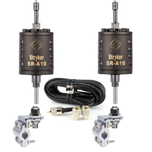 Stryker SR-A10 CB Antenna Complete Dual Package