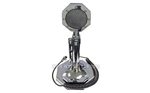 SS4 Silver Salute Amplified Desk Base Station CB Microphone