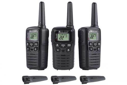 Midland FRS T10X3 Walkie Talkie Three Pack