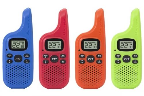 Midland FRS T20X4 Radios Four Pack