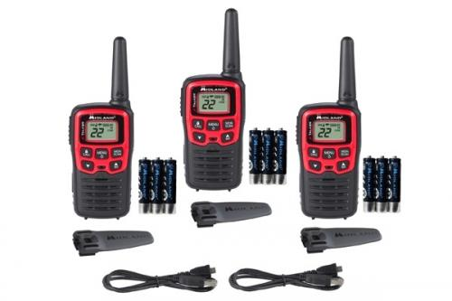 Midland X-TALKER FRS Three Pack T31VP Radios