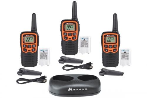 Midland X-TALKER T51X3VP3 Walkie Talkie Three Pack