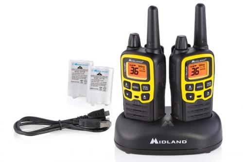 Midland X-TALKER T61VP3 Two-Way Radio Walkie Talkie Pair
