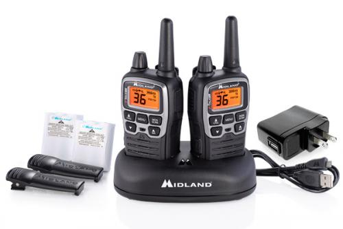 Midland X-TALKER T71VP3 Two-Way Radio Pair