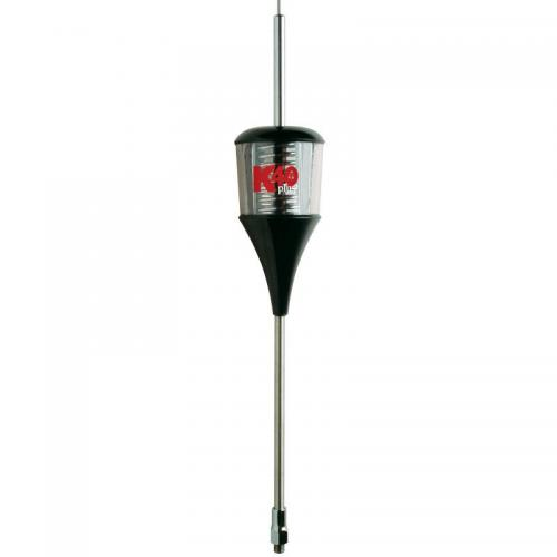 K40 6000 Watt Trucker Antenna with Clear Housing