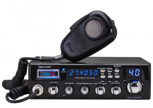 Texas Ranger TRE936FFB CB Radio with SWR Meter and Talkback